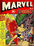 human torch vs sub-mariner all photos of cartoon from bing search, http://binged.it/1gTJbiU
