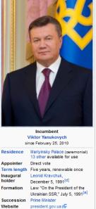Ukrainian President Viktor Yanukovych 02 18 2014