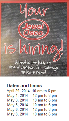 JEWEL OSCO IS HIRING