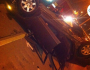 Two young women survive car flipped ontoexpressway