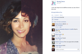 moriah peters mothers day
