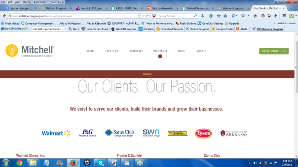 Mitchell Communication Group is committed to their clients, what about the clients customers?