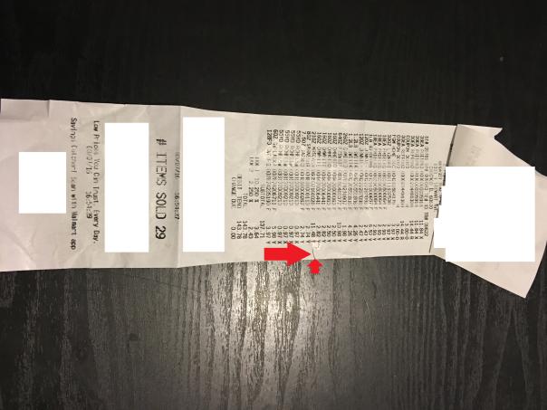 Original charge of $11.48