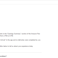 Amazon response to request for payment for services rendered
