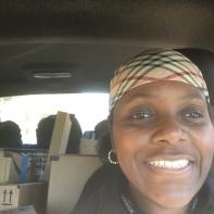 Amazon Flex Delivery driver , me, Kathy Brocks